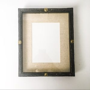 Shadow Box Picture Frame, rustic, nautical
